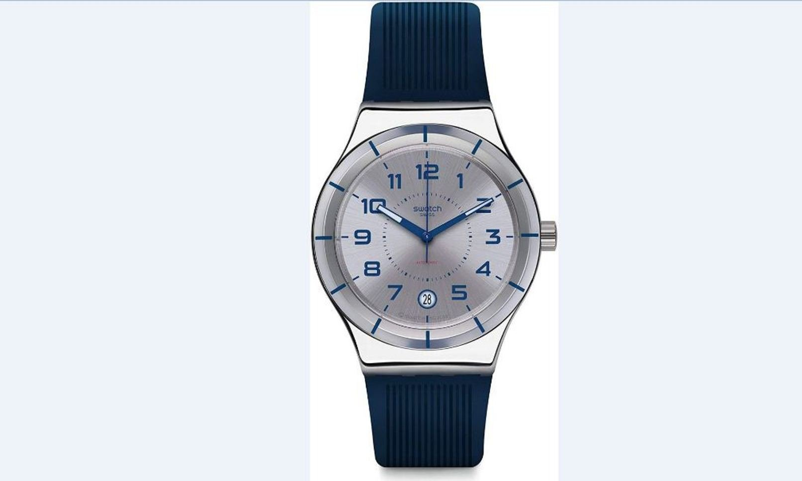 Swatch Irony Sistem Navy Automatic YIS409 Men's Watch: Cute And Futuristic