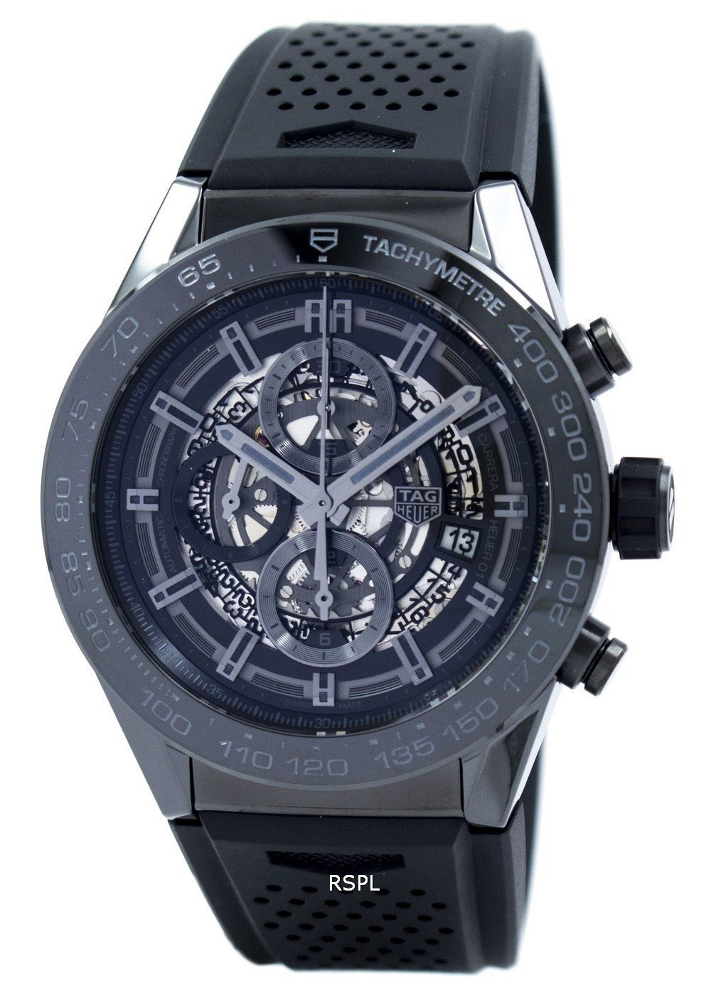 Tag Heuer Carrera Chronograph Automatic CAR2A90.FT6071 Men's Watch:  Not For The Goody Two-Shoes