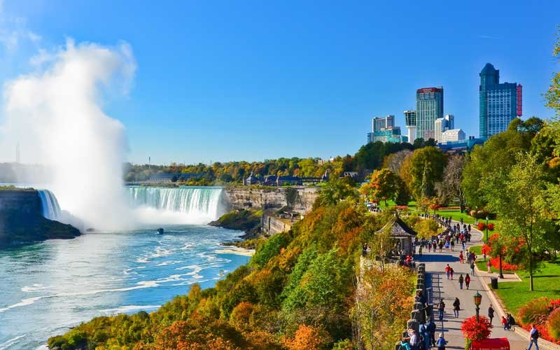 The Beautiful View Of Niagara Falls With Niagara Falls Tours