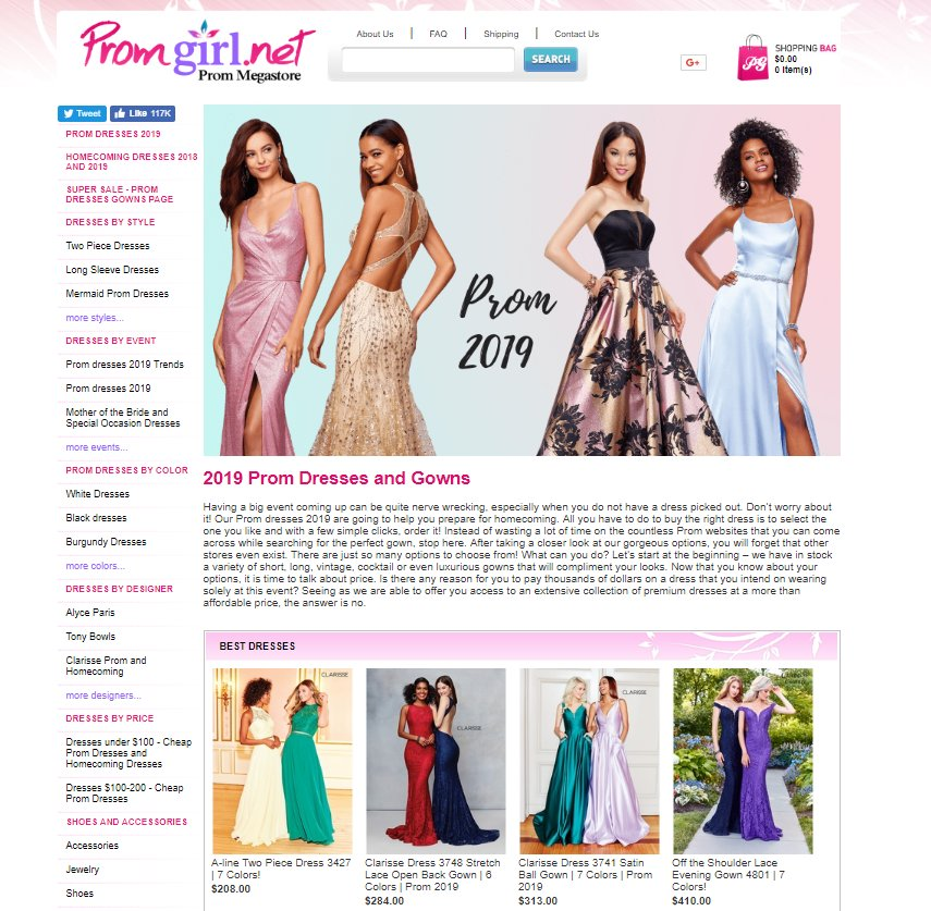 The Best Advantages Offered By Prom Websites