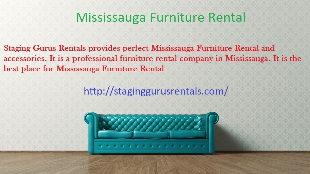 The Secret Of Successful Mississauga Furniture Rental