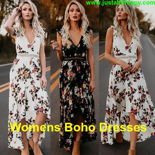 The Trending Women Boho Dresses With New Designs And Patterns At Just A Bit Hippy