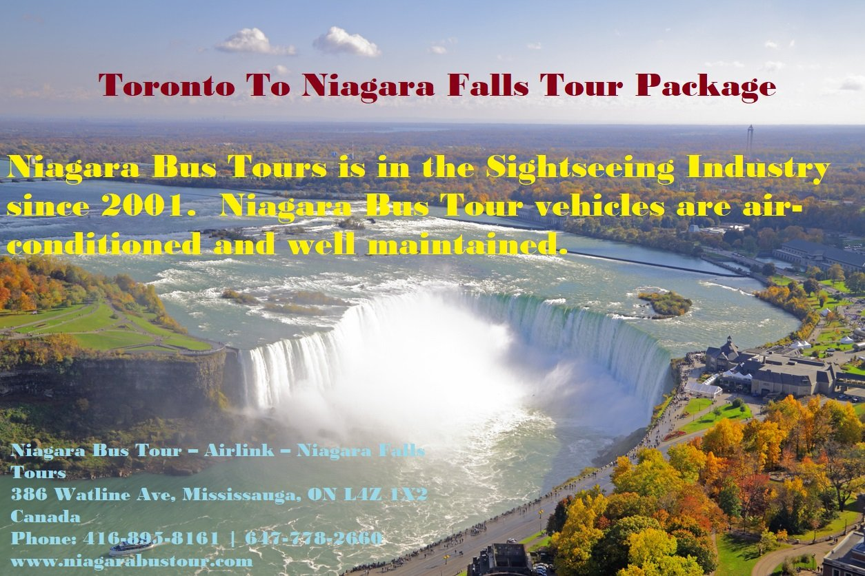 Toronto To Niagara Falls Tour Package