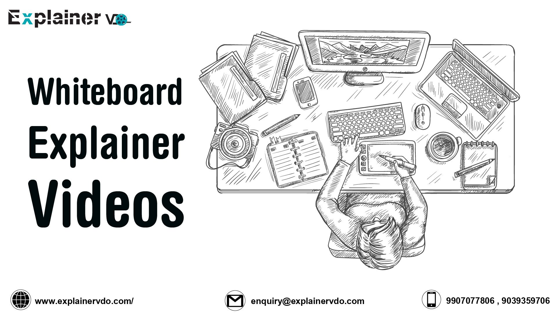 Why To Choose Whiteboard Explainer Video Production Company